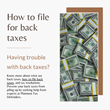 how to file back taxes | Platinum Tax Defenders