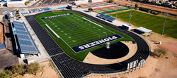 Pinnacle High School football field in Phoenix, AZ is home to the newest Nike Flag Football Camp.