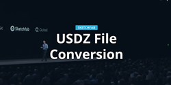 USDZ file conversion