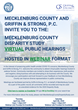 Mecklenburg County Disparity Study Virtual Public Hearings