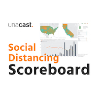 Unacast Launches Social Distancing Scoreboard