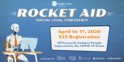 Rocket Aid, an Online Conference Fundraiser for Lawyers
