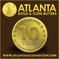 Atlanta Golf & Coin Buyers celebrating 10 years of exceptional service