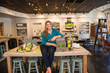 Leslie Magrew in her new retail location after winning RetailNEXTSTL 2019