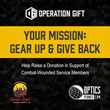 OpticsPlanet, Inc. 'Operation Gift' Campaign Donates Over $67,000 Toward Veteran Recovery Programs at Ranger Road