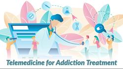 Tele-health for addiction treatment