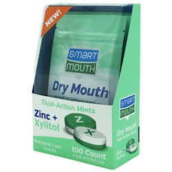 SmartMouth Dry Mouth Mints with Zinc