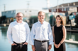 The leadership team at Whitten Architects (from left to right):  Principal Russ Tyson, Founder and Principal Rob Whitten, and Associate Principal Jessie Carroll.