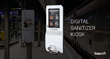 Kuusoft Digital Hand Sanitizer Kiosks
