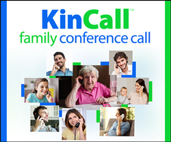 KinCall Affordable Family Conference Calls
