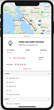 The parking feature of Trucker Tools' mobile app provides details and directions for truckers to locate nearby parking and fueling locations