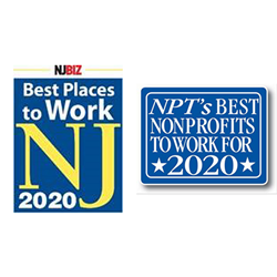 NJBIZ and NPT's best places to work logos