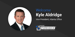 Kyle Aldridge, Vice President, Atlanta Ofiice, Lowers Forensics International