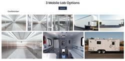 COVID-19 mobile testing trailer