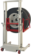 Wheel repairs are safe, quick, and ergonomic with a heavy duty wheel dolly