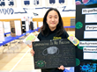 Hollywood teenage talent Magnolia Wu exhibiting coronavirus in science fair donating masks during COVID-19 pandemic