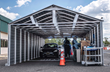 Aluminum Shapes LLC. Donates Drive Through Test Center to Camden County