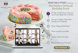 Bake Me A Wish!'s Virtual Birthday Party Checklist
