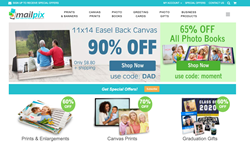MailPix easy online ordering of photo products