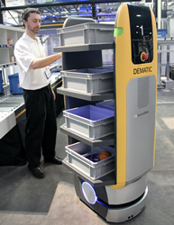Dematic announced the issuance by the US Patent Office of a patent that covers the invention of the Autonomous Mobile Picking Unit.