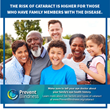 June Declared Cataract Awareness Month by Prevent Blindness in Effort to Educate Public on World's Leading Cause of Vision Loss