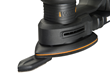 WORX 20V Power Share Detail Sander with finger sanding attachment in place.