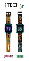 Scoob! and Scooby-Doo iTech Jr. Kids Smartwatch sold exclusively at Walmart.