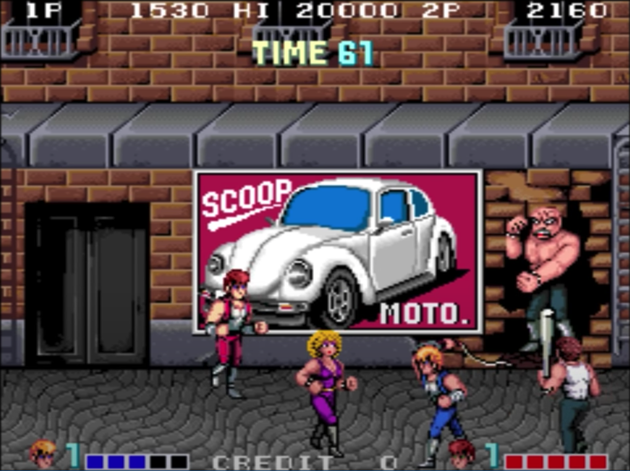 Legendary Double Dragon Series Coming To Iircade The Ultimate