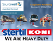 "Sourcewell Contract for ""Vehicle Lifts, with Garage and Fleet Maintenance Equipment"" Awarded to Stertil-Koni"