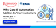 EMA Webinar to Reveal Why Workload Automation is Key to Digital Transformation