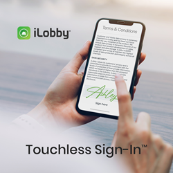 iLobby Touchless Sign-In™