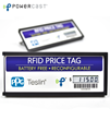Over-the-air wireless power updates prices on ePaper screen on batteryless RFID Retail Price Tag