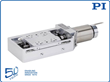 New Precision Linear Stage Family for Ultra High Vacuum Applications