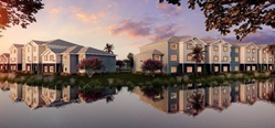 A rendering of Blue Sky Communities' latest project, Sandpiper Place, which is a 92-unit multifamily rental housing complex in Manatee County, Florida.