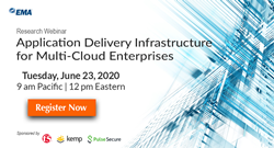 """Application Delivery Infrastructure for Multi-Cloud Enterprises"" Research Webinar"