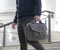 The Outback Duo multi-device laptop bag — with padded compartments for two separate laptops (or tablets)
