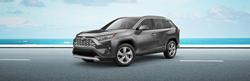 2020 Toyota RAV4 Hybrid in gray