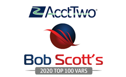 ERP and Accounting Experts, AcctTwo, Named to Bob Scott's Top 100 VARs for 5th Straight Year