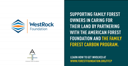American Forest Foundation and WestRock logos
