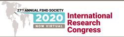 Logo of 2020 FSHD International Research Congress - Now Virtual