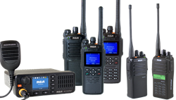 RCA two-way radio line of radio equipment