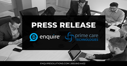 Enquire Prime Care Technologies Partnership