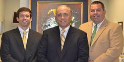 Drs. James Pace Jr. James Pace Sr. and Temp Sullivan, Dentists in Nashville, TN