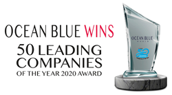 Ocean Blue World Takes Home 50 Leading Companies of The Year 2020 Award