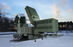 Raytheon missile radar detection system mock up manufactured by Additive Engineering Solutions