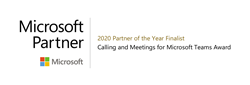 Enabling Technologies Microsoft Teams Calling and Meetings Partner of the Year Finalist 2020