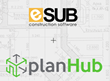PlanHub and eSUB Construction Software Partnership Announcement