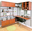 freedomRail Home Office in Modern Cherry