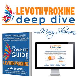 Le programme gratuit Levothyroxine Deep Dive comprend trois webinaires vidéo, un guide en ligne détaillé et un livre.