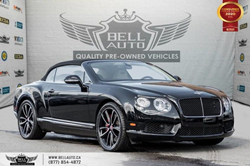 Exterior view of a black 2013 Bentley Continental GT Coupe Cabriolet at Bell Auto Inc.